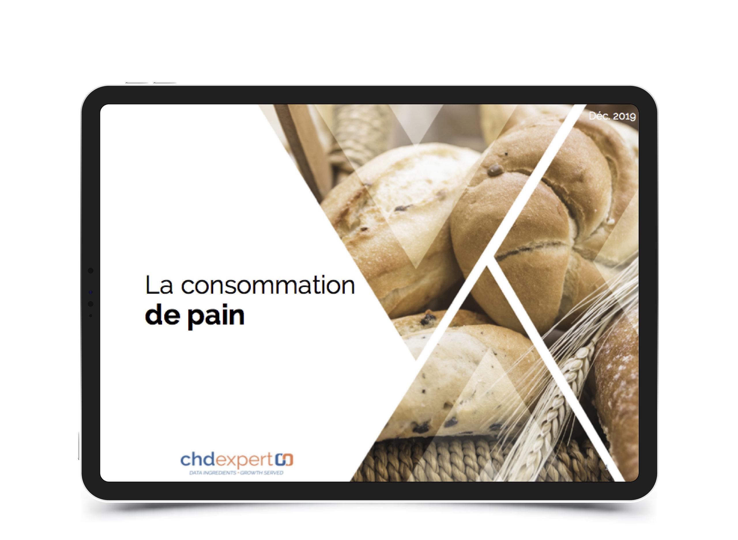 La consommation de pain • 2019