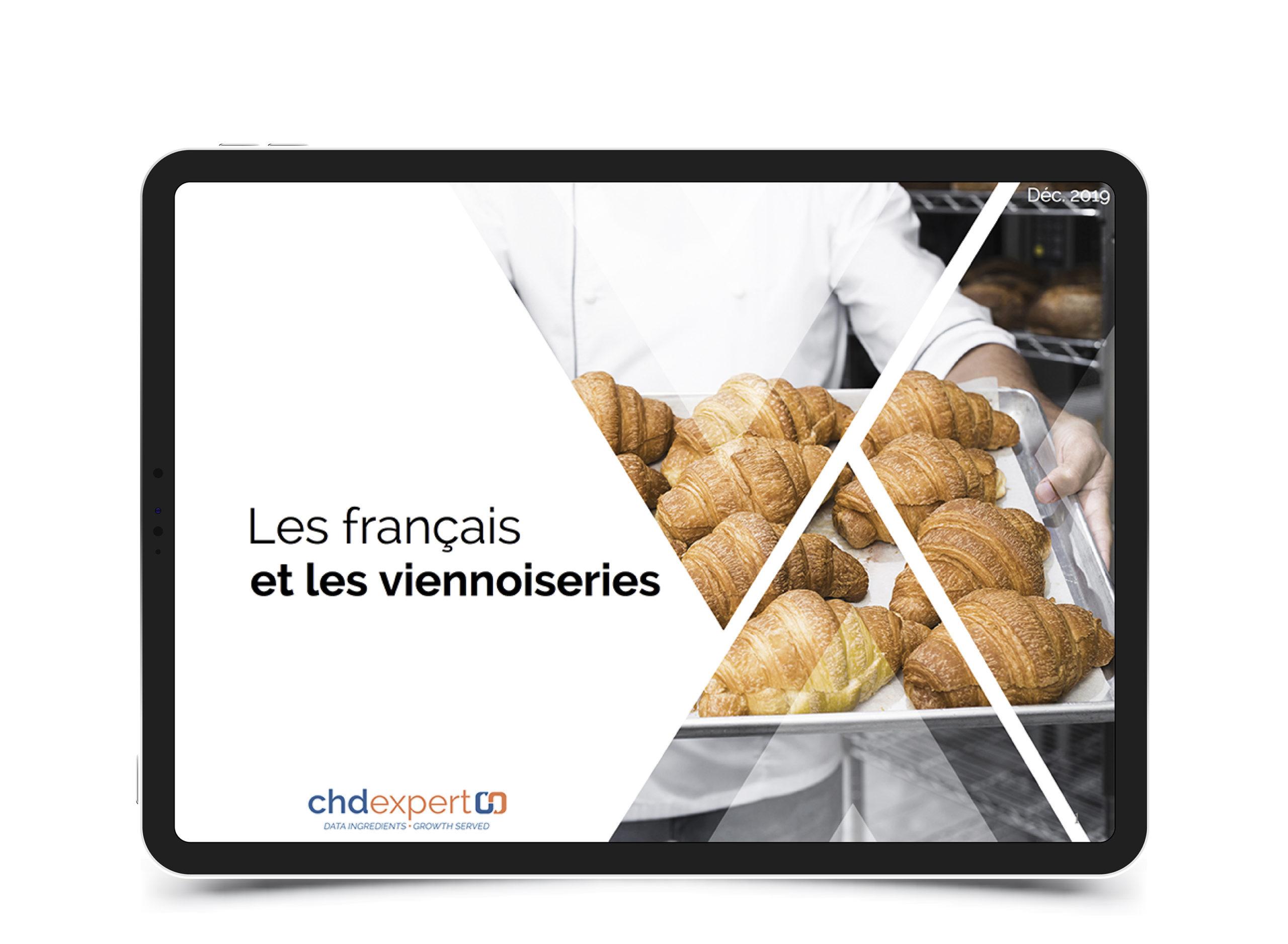 Les français et les viennoiseries • 2019