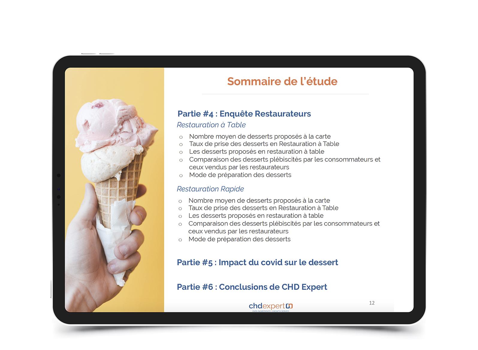 Les desserts préférés des français • 2020
