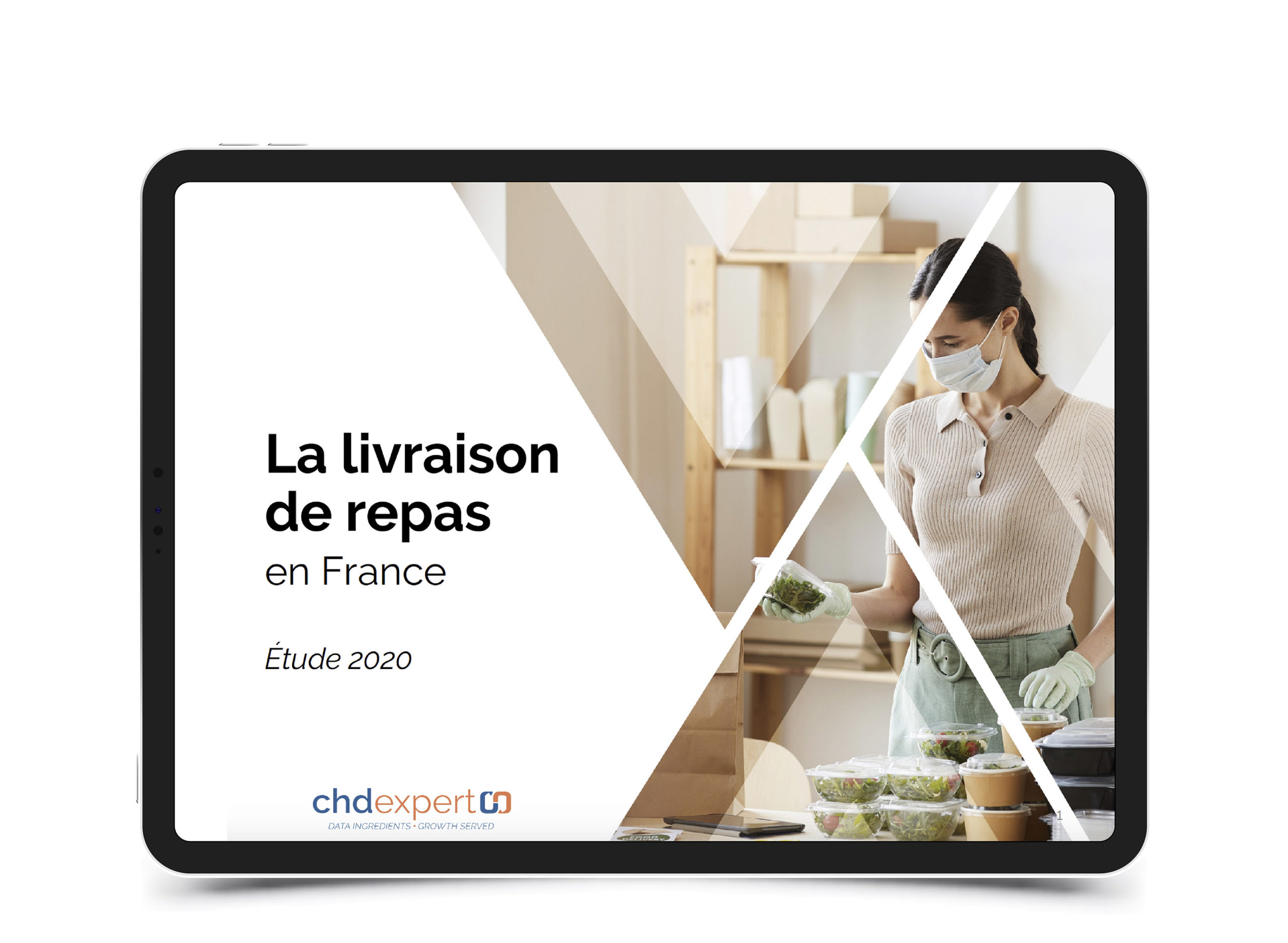 La livraison de repas en France • Étude 2020